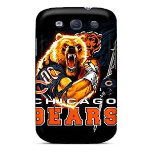 Best Hard Phone Covers For Samsung Galaxy S3 With Unique Design High-definition Chicago Bears Series JoanneOickle