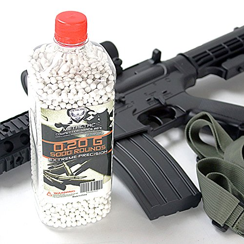 .20g 5000 Bottle 6mm for Airsoft Guns Perfect Grade Percision Accurate BB Pellets ()