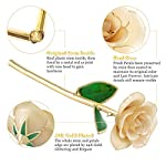 Ejoyous-24K-Gold-Rose-Forever-Preserved-Real-Rose-Gift-for-Lover-Mom-Wife-Daughter-Girl-Friend-Unique-Present-on-Valentines-Day-Wedding-Anniversary-Birthday-Proposal-Reward-Ivory-with-Stand