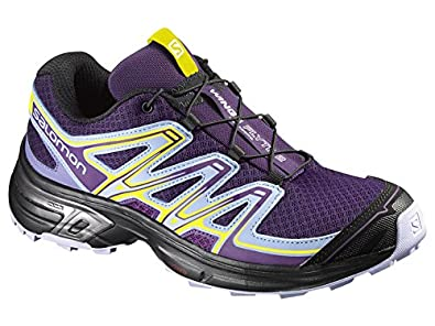 17fd503c04fc Salomon Women s Wings Flyte 2 Trail Running Shoes Cosmic Purple Pale  Lilac Black 12