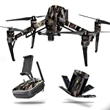 MightySkins Skin for DJI Inspire 2 - Tree Camo | Protective, Durable, and Unique Vinyl Decal wrap Cover | Easy to Apply, Remove, and Change Styles | Made in The USA