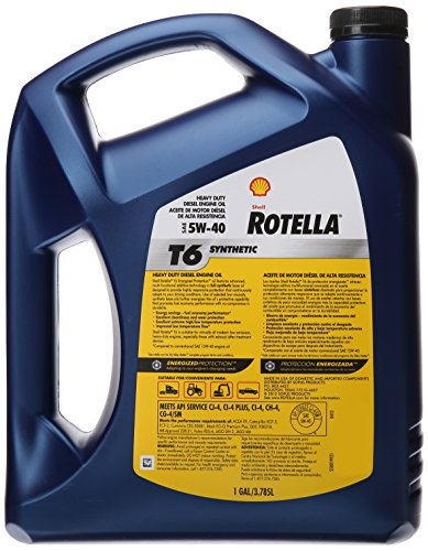 Shell Rotella 550019921 T6 5W-40 Full
