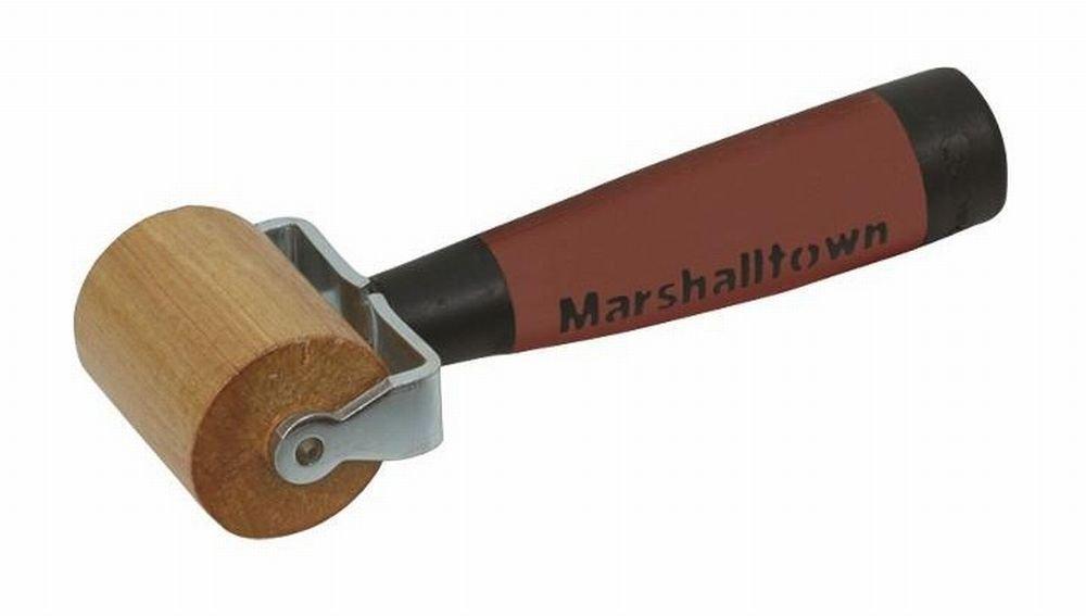 MARSHALLTOWN E83D 15 Pack 2in. Flat Maple Seam Roller-DuraSoft Handle
