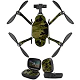 MightySkins Protective Vinyl Skin Decal for GoPro Karma Drone headphones wrap cover sticker skins Green Camouflage