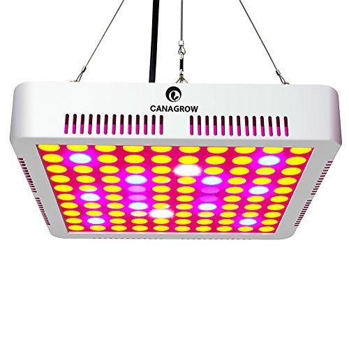 300W LED Plant Grow Lights, CANAGROW Full Spectrum LED Grow Lights for Indoor Plants, Hydroponic, Greenhouse, Vegetables, Flowers All Growing Stage by CANAGROW