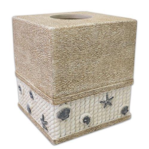 Bath Tissue Box Cover Harbor Bathroom Ivory Color