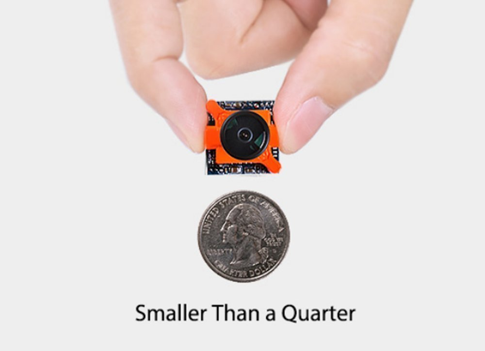 Crazepony-UK RunCam Micro Swift FPV Camera Appareil Photo 600TVL Objectif 2.3mm 5 à 36V PAL IR bloqué pour FPV Racing Drone: Amazon.es: Electrónica
