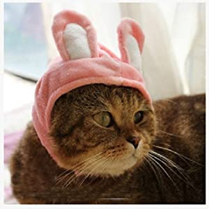 AUCH 1Pc New/Cute Fashion Colorful Pet Dog/Cat Hat Classics Collection Holiday Party Pet Costume Accessory for Christmas Festival(Small, Deer)