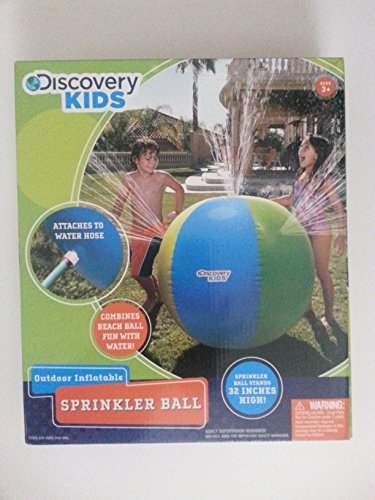 Discovery Kids Inflatable Sprinkler Ball - 32 inches