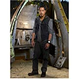 Lost Ken Leung as Miles Straume Posing in Vest Gazing into Camera in front of Airplane Wreckage 8 x 10 inch photo