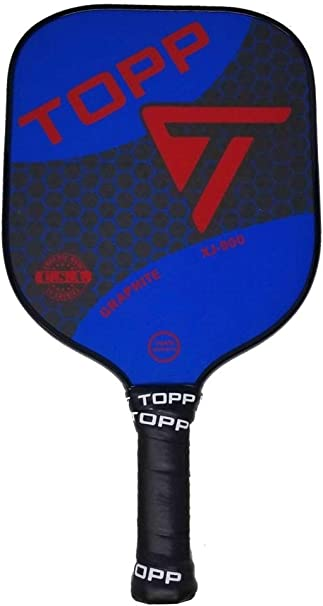 Amazon.com : Topp Pickleball Paddle XJ 900 Graphite (Blue ...