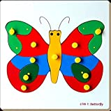 Little Genius Inset Tray - Butterfly, Color May Vary (Medium)