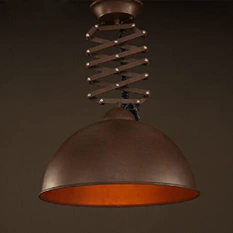 Telescopic Pendant chandelier, Led Hanging lighting fixtures Ceiling ...