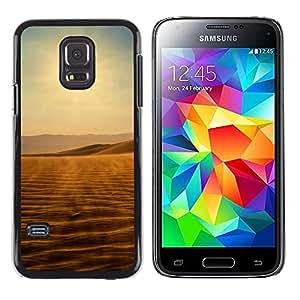 iKiki Tech / Estuche rígido - Desert views - Samsung Galaxy S5 Mini, SM-G800, NOT S5 REGULAR!