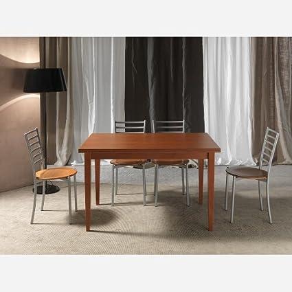 Tavolo da cucina allungabile in legno Giorgino basic - SG305, Bianco ...