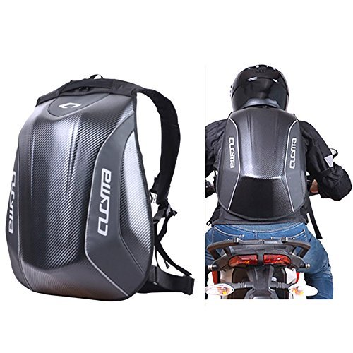 Motorcycle Backpack Motorsports Track Riding Back Pack Stealth No Drag Molded ()