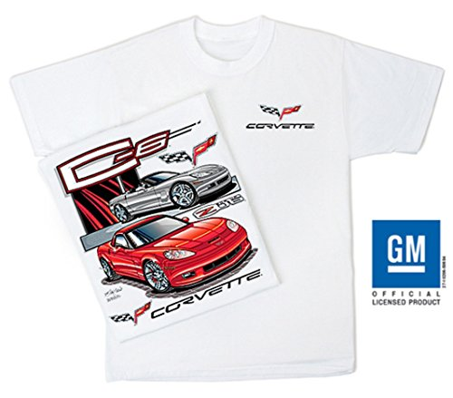 C6 Corvette Tee Shirt, Chevy C-6 Z06 Vette Apparel, used for sale  Delivered anywhere in Canada