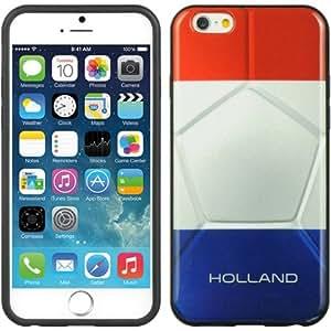 "iPhone 6 4.7 Premium TPU Design Slim Cover Case, VMG Premium Slim Sleek Smooth Design Protective Case Cover for Apple iPhone 6 (4.7"""" Version) - Holland Flag"