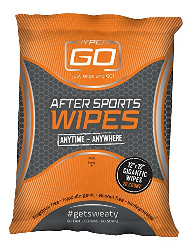 HyperGo After Sports Wipes (Nathan Power Shower)