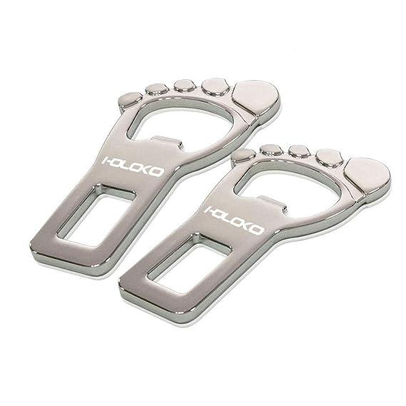 2x Universal Auto Sicherheitsgurt Schnalle Lock Plug Adapter Set
