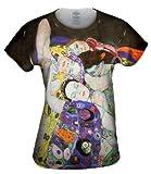 "Yizzam- Gustav Klimt - ""The Virgin"" (1913-National...-TShirt- Womens Shirt 1607"