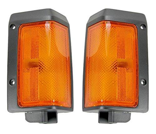 - Side Corner Parking Marker Turn Light Pair Set For 86-87 Nissan Pickup Truck D21