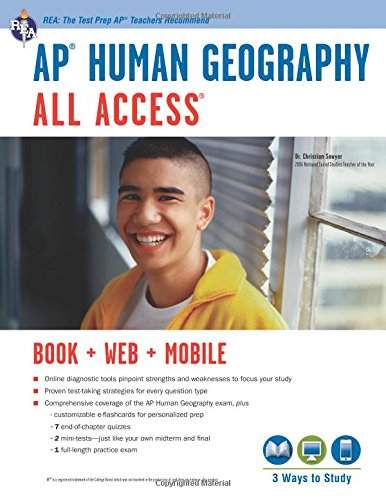 AP® Human Geography All Access Book + Online + Mobile (Advanced Placement (AP) All Access)