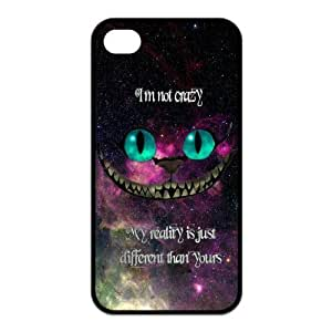 Nebula Space I'm not crazy my reality is just different than yours Protective Rubber Cover Case for iPhone 4,iPhone 4s Cases