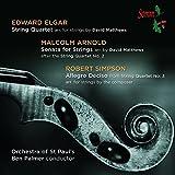 Elgar/Arnold/Simpson [Ben Palmer, Orchestra of St Pauls ] [SOMM: SOMMCD 0145] By Orchestra of St Pauls ,Edward Elgar (Composer),Malcolm Arnold (Composer) (2015-03-02)