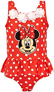 Disney Girls Minnie Mouse Swimsuit