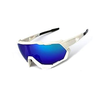 Epinki - Gafas de Sol para Hombre, TPU+PC, protección ...