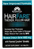 HAIR FARE Caplets 60 Caplets (Pack of 3) For Sale