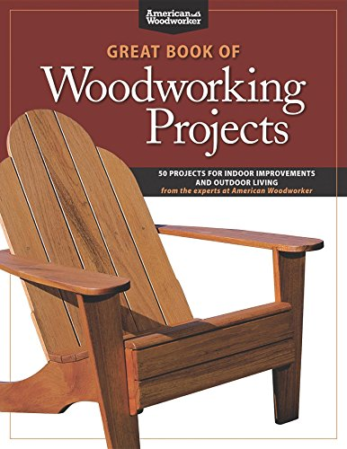 Great Book of Woodworking Projects: 50 Projects For Indoor Improvements And Outdoor Living from the Experts at American Woodworker by [Johnson, Randy]