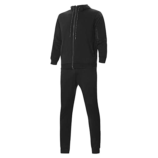 Clearance Sale, 2018 Lastest WUAI Mens Hooded Sweatshirt Sets Casual Outdoors Sports Slim Fit Fashion Suit Tracksuit at Amazon Mens Clothing store: