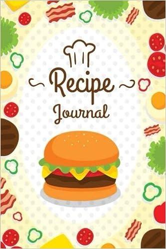 amazon com journal recipe customized recipe book blank recipe