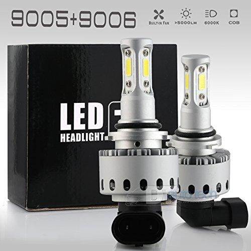 90059006 Combo 200W 20000LM LED Headlight Kit High Low Beam Light Bulbs 3 Year Warranty