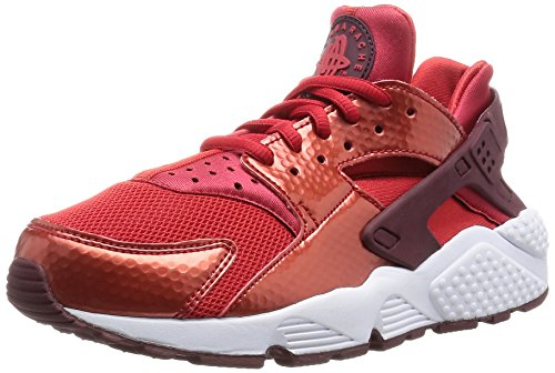 Air Huarache Run Mesh Red Nike Donna Rosso University Pelle Sneakers gOwaFq