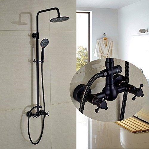 Rozin Oil Rubbed Bronze Bathroom Shower Faucet 8