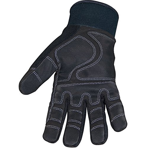 Youngstown Glove 03-3450-80-S Waterproof Winter Plus Gloves, Small, Black