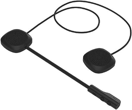 GreatFun Auriculares con Casco de Motocicleta Bluetooth 5.0, Auriculares inalámbricos con función de Hueso y micrófono con Altavoz para Deportes urbanos como Montar a Caballo y Correr: Amazon.es: Hogar