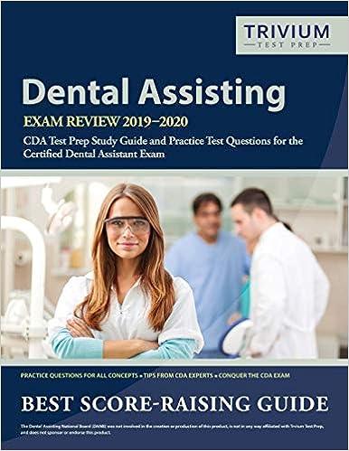 best rda 2020 Dental Assisting Exam Review 2019 2020: CDA Test Prep Study Guide