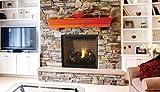 DRT6345TEN 45'' Electronic Top Vent Louverless Fireplace - Natural Gas