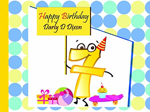Custom Cartoon Emoji 7 Year Old Birthday Poster for Kids - Size 24x36, 48x24, 48x36; Personalized Happy Birthday Banner Wall Decor with Emoji Figure 7 and Toys; Handmade Party Supplies Poster Print