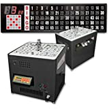 Bingo Blower Professional Table Top With 5FT Flashboard
