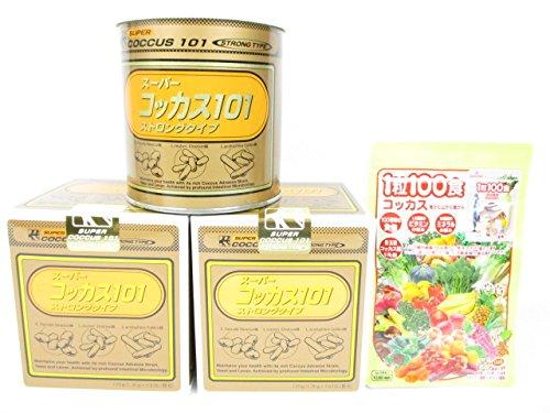 スーパーコッカス101ストロング2缶+「1粒100食コッカス」1袋付セット B0155Q5NBO