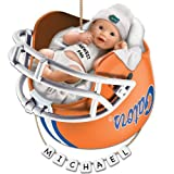 University of Florida Gators Football Personalized Baby's First Ornament by The Bradford Exchange