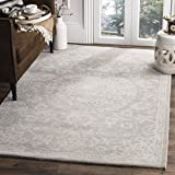 Safavieh Bella Collection BEL446A Handmade Grey and Silver Premium Wool Area Rug (9' x 12')
