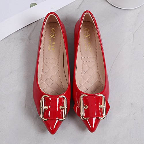 mujer Forty estudiante superior Zapato one Zapato plana inferior Donyyyy de Solo qaIzxwwF