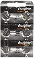 Energizer A76 LR44 1.5V Button Cell Battery, 6 Each
