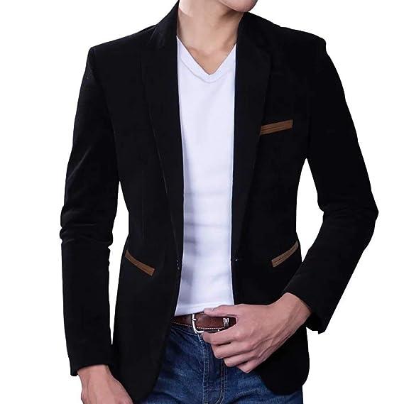 247fb0d4d5bb Men's Corduroy Blazer Business Coat Cotton Smart Formal Dinner Casual Suit  Clothing Jacket Slim Fit Suit